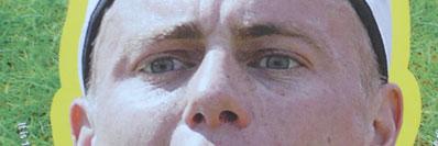 Lleyton Hewitt mask