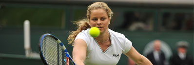 Kim Clijsters during the Centre Court Celebration