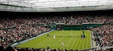 Under the Centre Court Roof