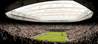The new Centre Court Roof