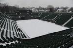 Snow on No.2 Court